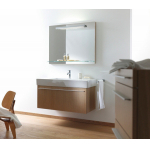 Тумбы DURAVIT 6058.86 X-Large Тумба-100 Colour:86 Cappuccino High Gloss Laoque фото